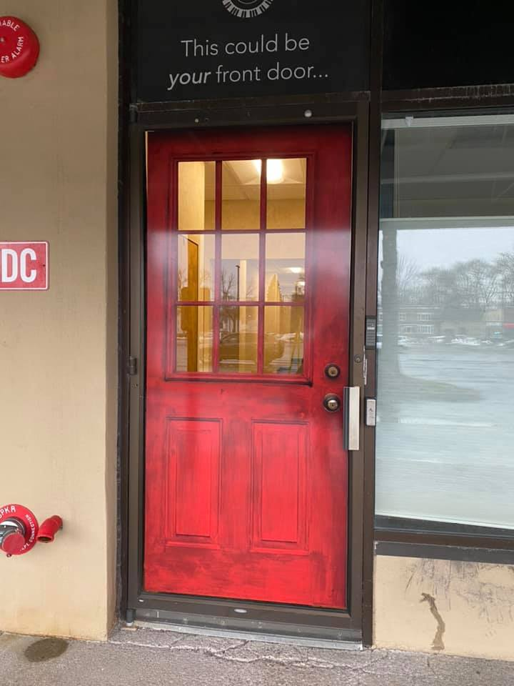 the red door to Central Creatives